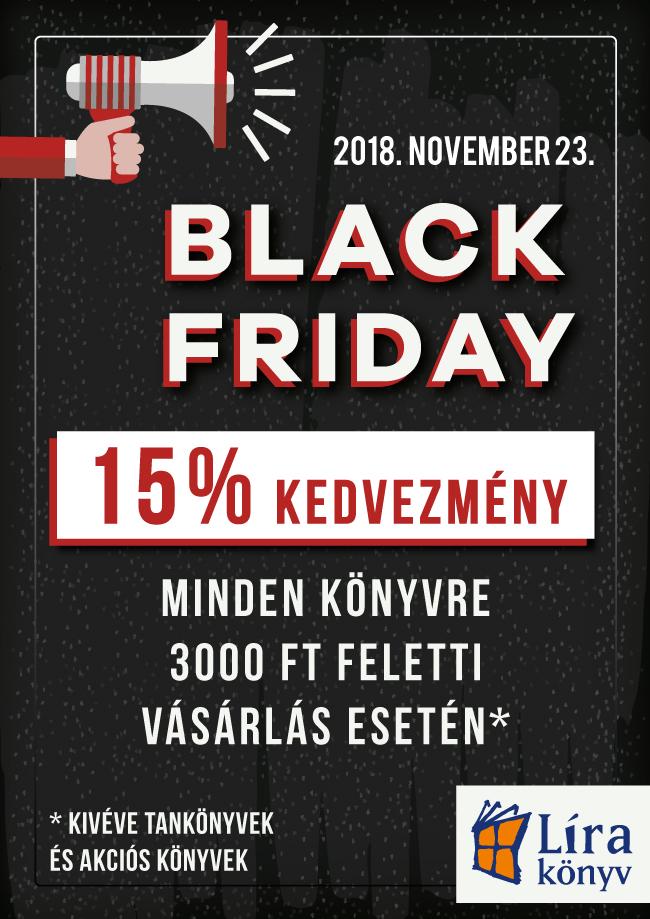eb1f06a5f2 Black Friday a Líra, Líra-Móra és Rózsavölgyi és Társa boltokban - 2018