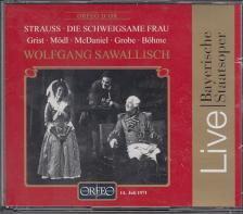 Strauss - DIE SCHWEIGSAME FRAU CD