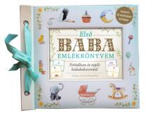 - Első baba emlékkönyvem Fotóalbum és napló kisbabakoromból- 24 bájos kártya fotózáshoz