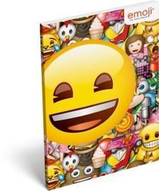 13274 - Notesz papírfedeles A/6 Emoji Smile 17519002