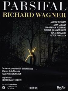 Wagner - PARSIFAL DVD (HAENCHEN, CASTELUCCI, ORCHESTRE SYMPHONIQUE DE LA MONNAIE)
