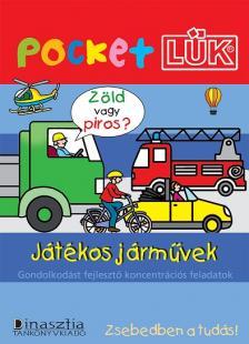 - JÁTÉKOS JÁRMŰVEK ALAPLAPPAL - POCKETLÜK LDI-906/A