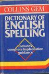 - Dintionary of English Spelling [antikvár]