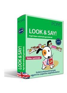 - PONS Look&Say - Angol képes szókártyák gyerekeknek