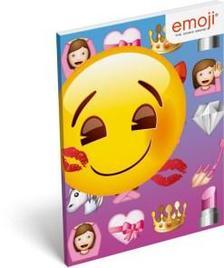 13570 - Notesz papírfedeles A/7 Emoji Girls 17519305