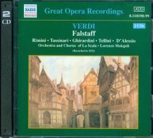 Verdi - FALSTAFF CD
