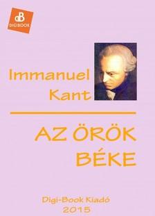 Immanuel Alapítvány - Az örök béke [eKönyv: epub, mobi]