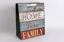 337472 - Papírtasak M.HOME,LOVE,FAMILY 26*32