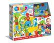 Clemmy Plus Puha, bébi építőjáték szett hangeffektussal - Dínó Móka Park készlet