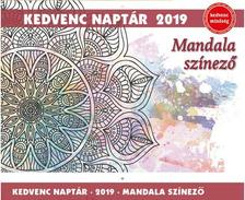 mandala naptár 2019 Kedvenc naptár 2019   Mandala színező mandala naptár 2019