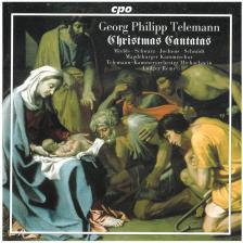 TELEMANN - CHRISTMAS CANTATAS CD LUDGER RÉMY