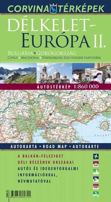 - Délkelet-Európa II. autóstérképe