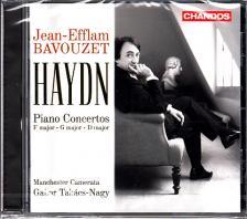 Haydn - PIANO CONCERTOS CD BAVOUZET, TAKÁCS-NAGY GÁBOR