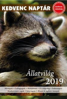 CSOSCH KIADÓ - Kedvenc naptár 2019 - Állatvilág
