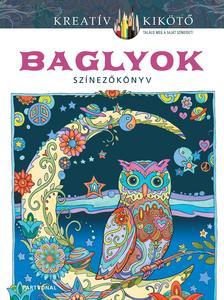 Marjorie Sarnat - Baglyok - Színezőkönyv