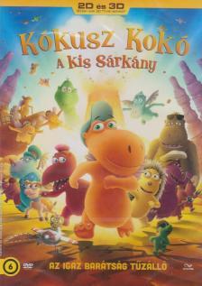 - KÓKUSZ KOKÓ, A KIS SÁRKÁNY  2D-3D DVD