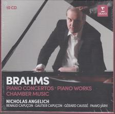 BRAHMS - PIANO CONCERTOS 10CD ANGELICH