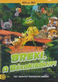 - BREKI, A BÉKAKIRÁLYFI 2D-3D DVD