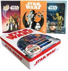 .- - Star Wars - Asztrodoboz (benne: 2 mesekönyv és 1 színező)