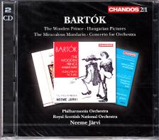 Bartók - ORCHESTRAL WORKS 2CD NEEME JARVI