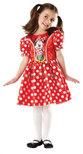 - Rubies Minnie egér vörös jelmez L