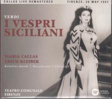Verdi - I VESPRI SICILIANI 3CD CALLAS