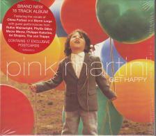 PINK MARTINI - GET HAPPY - PINK MARTINI CD