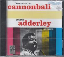 """PORTRAIT OF CANNONBALL - JULIAN """"CANNONBALL"""" ADDERLEY QUINTET CD"""