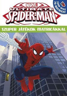 - Ultimate Spider-Man Szuper játékok matricákkal 16