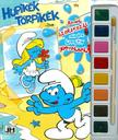 Hupikék Törpikék - A5 kifestő vízfesték készlettel<!--span style='font-size:10px;'>(G)</span-->