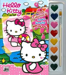 - Hello Kitty 2 - A5 kifestő vízfesték készlettel