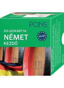 Klett Kiadó - PONS Szókártyák német nyelvből (alcím: 333 szó Német kezdő csomag)