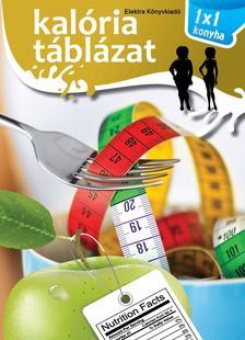 Kalória táblázat - 1x1 Konyha