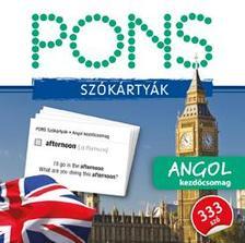 Klett Kiadó - PONS Szókártyák angol nyelvből (alcím: 333 szó Angol kezdő csomag)