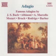 ALBINONI, BACH, MOZART, - FAMOUS ADAGIOS CD