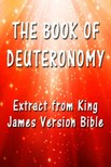 King James - The Book of Deuteronomy [eKönyv: epub,  mobi]