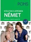 Klett Kiadó - PONS Nyelvtan 3 lépésben Német<!--span style='font-size:10px;'>(G)</span-->