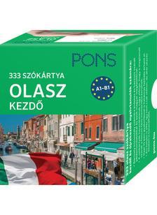 Klett Kiadó - PONS Szókártyák olasz nyelvből (alcím: 333 szó Olasz kezdő csomag)