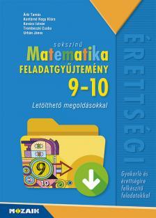 - MS-2323 SOKSZÍNŰ MATEMATIKA FGY. 9-10.O. - CD-VEL /ISKOLAI/
