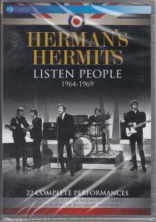 - LISTEN PEOPLE 1964-1969 (22 COMPLETE PERFORMANCES) DVD