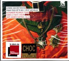 BEETHOVEN - PIANO TRIOS CD MELNIKOV, FAUST, QUEYRAS