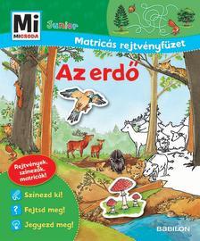 - Mi MICSODA Junior Matricás rejtvényfüzet Az erdő