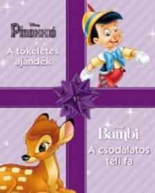 . - Disney karácsonyi mesék: Pinokkió / Bambi