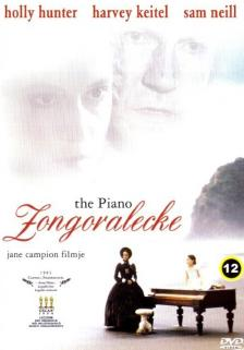 Jane Campion - ZONGORALECKE DVD (THE PIANO) HOLLY HUNTER,HARVEY KEITEL,SAM NEILL,A.PAQUIN
