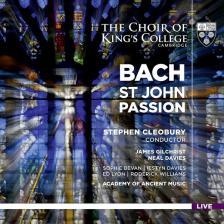 Bach - ST JOHN PASSION, 2 SACD