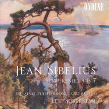 SIBELIUS - SYMPHONIES NO.1 & 7 CD SEGERSTAM, HELSINKI PHILHARMONIC ORCHESTRA