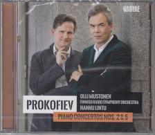 PROKOFIEV - PIANO CONCERTOS NOS.2&5,CD