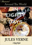 Murat Ukray Jules Verne, - Around the World in Eighty Days [eKönyv: epub,  mobi]