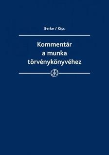 dr. Berke Gyula - prof. dr. Kiss György - dr. Bankó Zoltán - dr. Kajtár Edit - dr. Kovács Erika - Kommentár a munka törvénykönyvéhez 2014 [eKönyv: epub, mobi]
