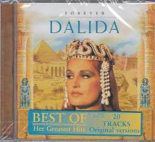 - FOREVER DALIDA - BEST OF GREATEST HITS, 20 TRACKS ORIGINAL VERSION CD